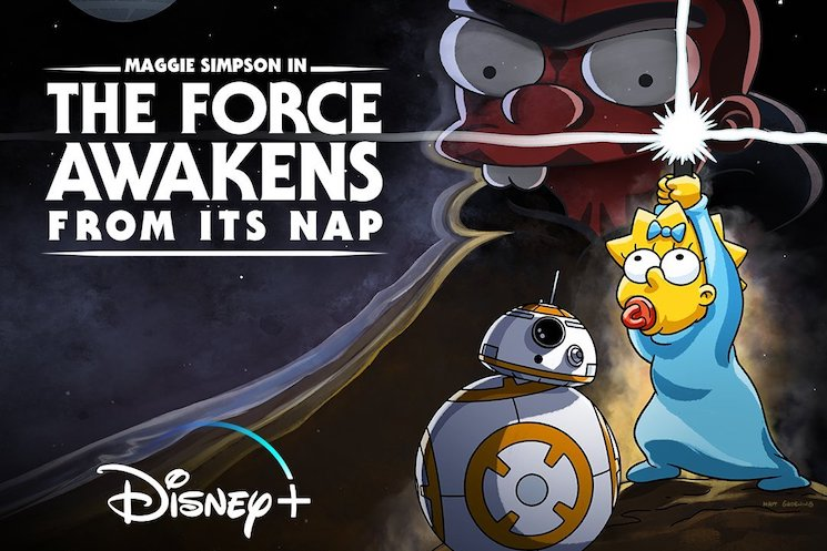 'The Simpsons' Meets 'Star Wars' in Disney+ Animated Crossover
