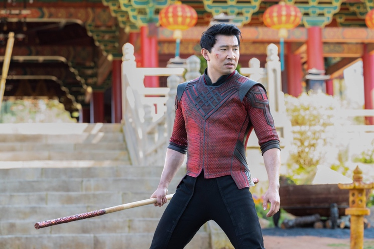 Simu Liu Modelled for Stock Photos Before 'Shang-Chi'