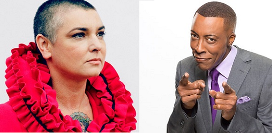 Arsenio Hall Sues Sinéad O'Connor for Accusing Him of Giving Drugs to Prince