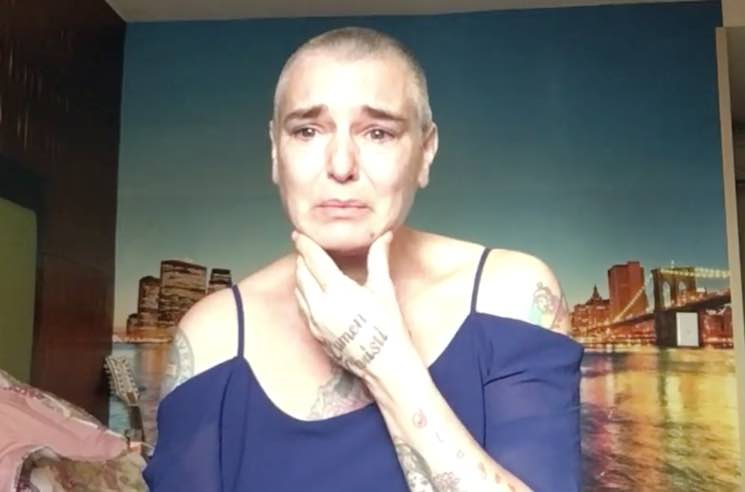 Sinéad O'Connor Reportedly Safe After Addressing Struggle with Mental Illness in Facebook Video