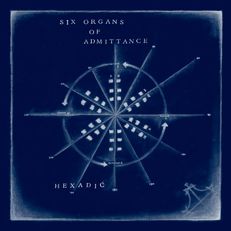 Six Organs of Admittance Returns with 'Hexadic'