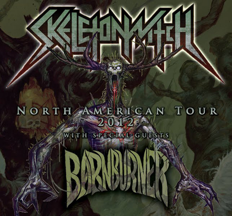 Skeletonwitch and Barn Burner Team Up for North American Tour