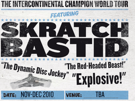 Skratch Bastid Doesn't Forget Canada on Intercontinental World Champion Tour