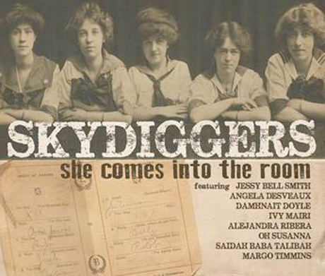 Skydiggers 'She Comes into the Room' (album stream)