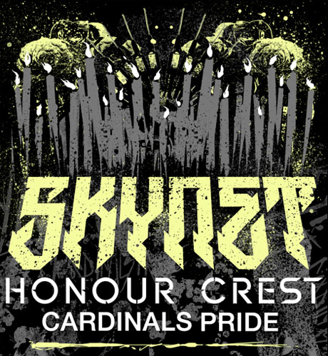 Skynet Announce Canadian Tour with Honour Crest and Cardinals Pride