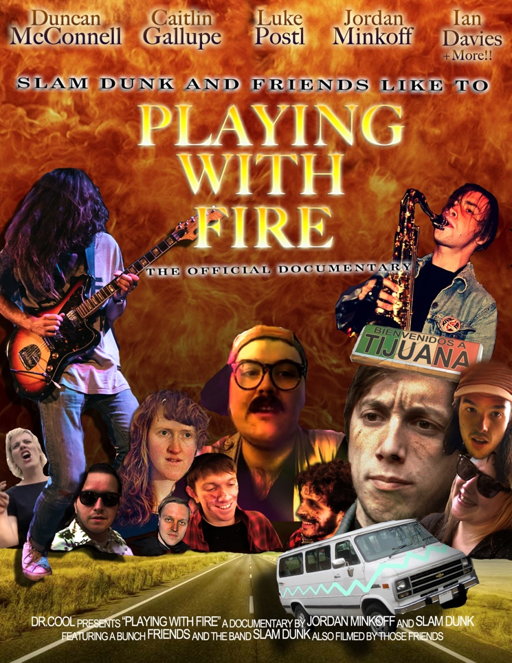 Slam Dunk Chronicle Fictional Tour with Arcade Fire in Mockumentary Film