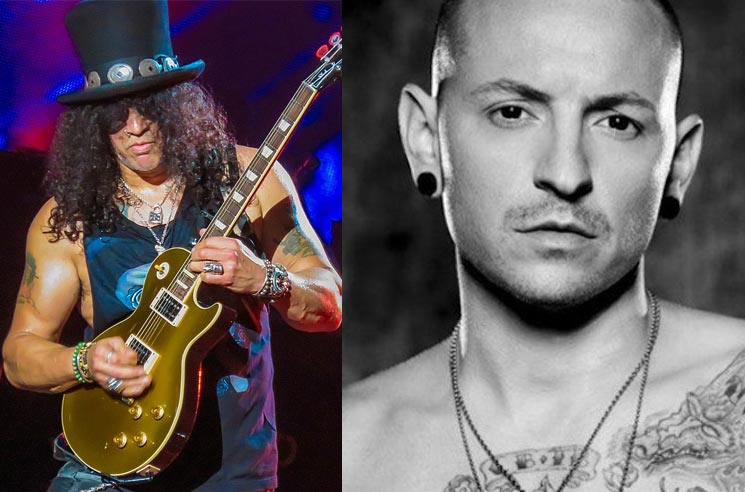 Slash Discusses Unreleased Chester Bennington Collaboration