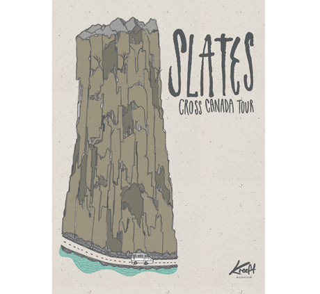 Edmonton's Slates Head Out on Canadian Tour