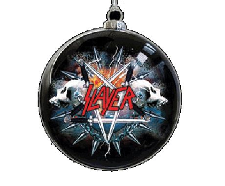 """Slayer """"Raining Blood"""" (as performed by Christmas lights)"""