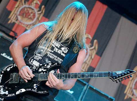 Slayer's Jeff Hanneman Hospitalized with Flesh-Eating Disease