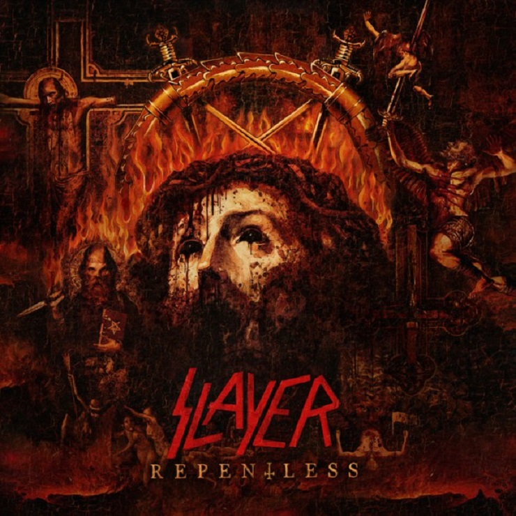 Slayer Reveal 'Repentless' Artwork
