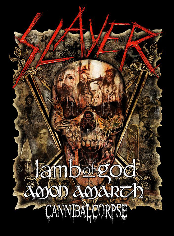 Slayer Map Out 2019 Farewell Tour Dates