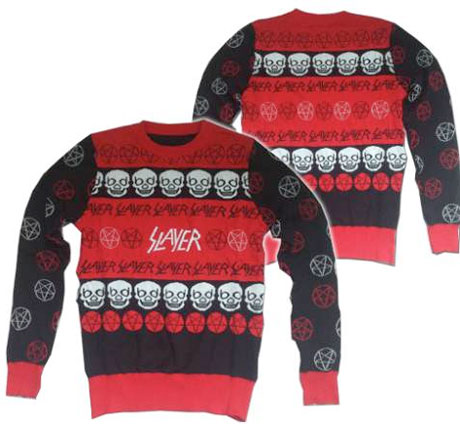 Slayer Make Their Own Ugly Christmas Sweater