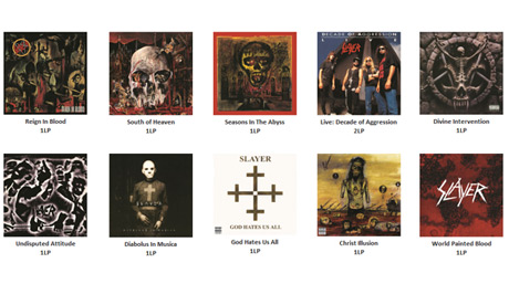 Slayer Launch Extensive Vinyl Reissue Campaign