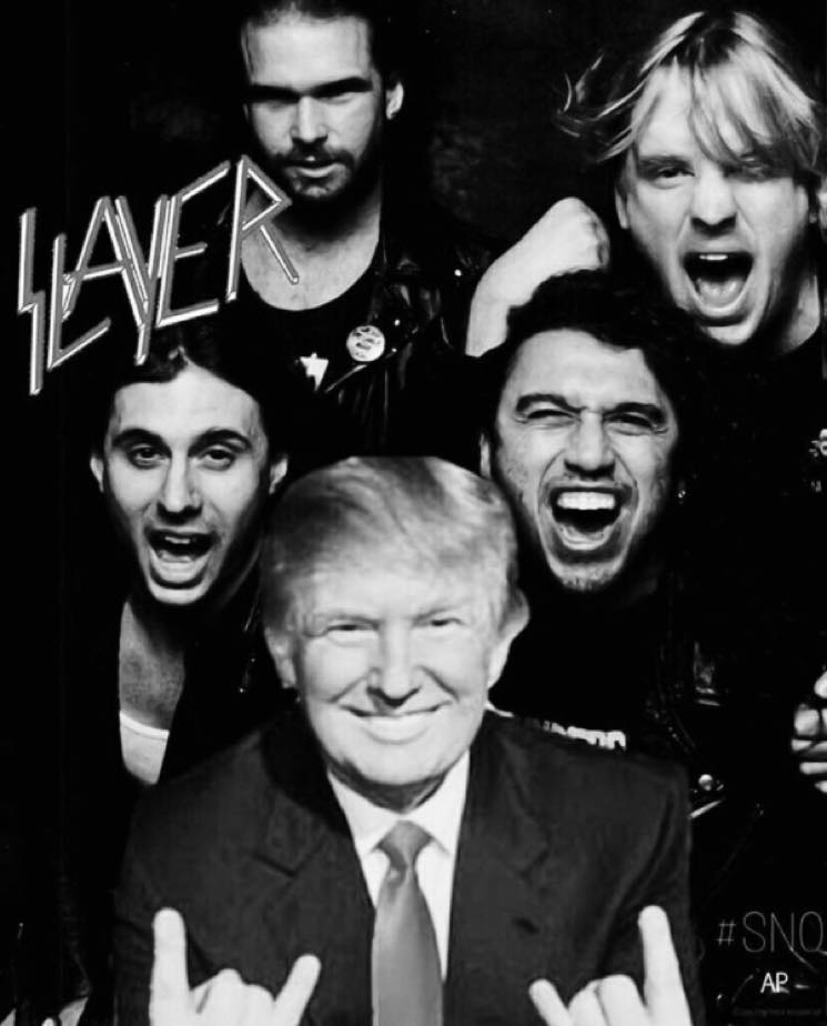 ​Slayer Denounce Tom Araya's Donald Trump Instagram Photo