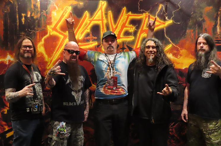 Toronto's 'Slayer Swimmer' Finally Met Slayer
