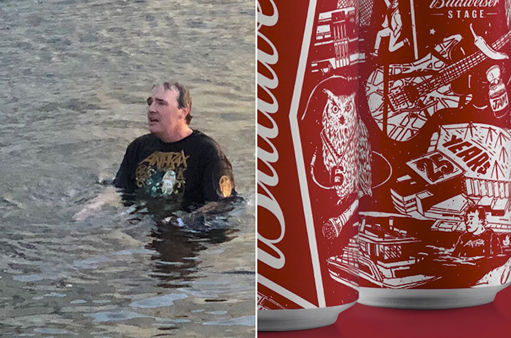 Toronto's 'Slayer Swimmer' Immortalized on Budweiser Can