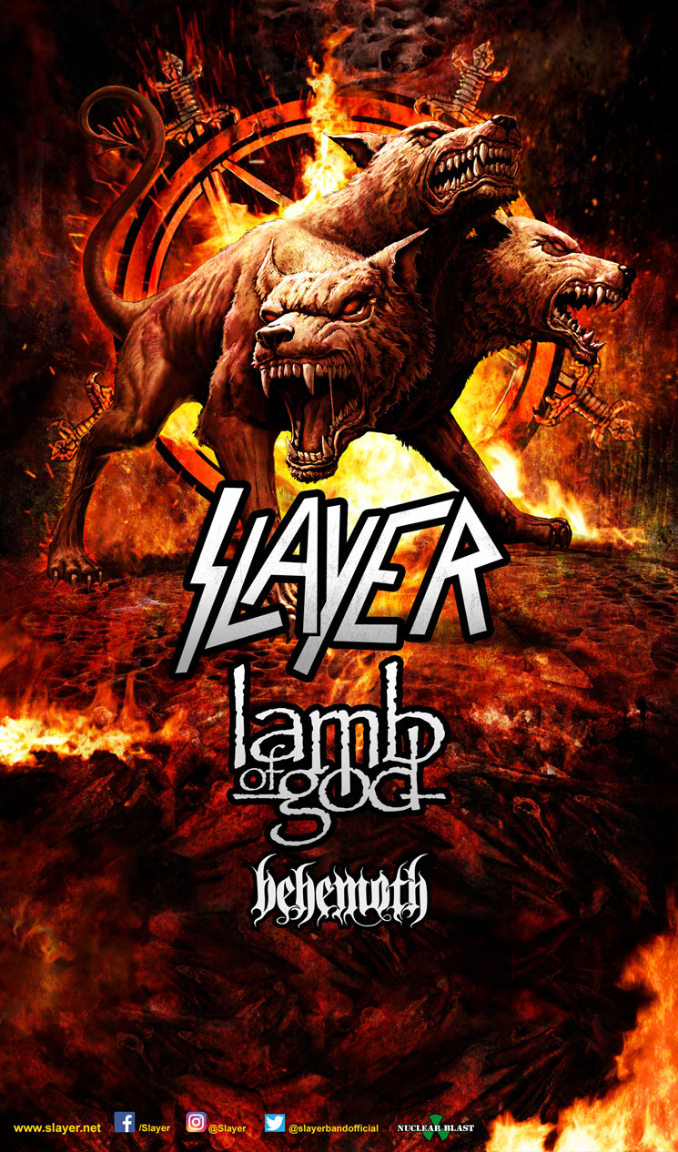 Slayer, Lamb of God and Behemoth Join Forces for North American Tour