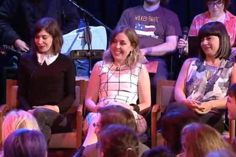 Sleater-Kinney 'The Chris Gethard Show' (interview)