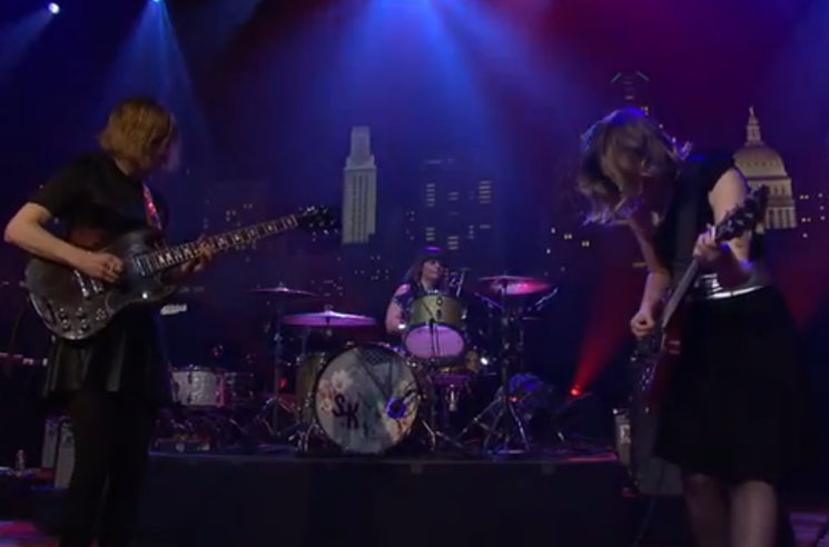 Watch Sleater-Kinney's Seven-Song 'Austin City Limits' Set