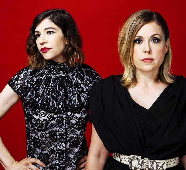 Sleater-Kinney Return to Their Roots as a Duo on 'The Center Won't Hold'