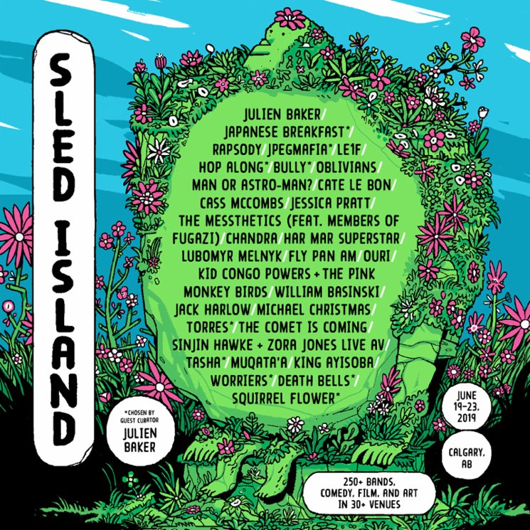 Sled Island Adds Rapsody, Jessica Pratt, Har Mar Superstar to 2019 Lineup