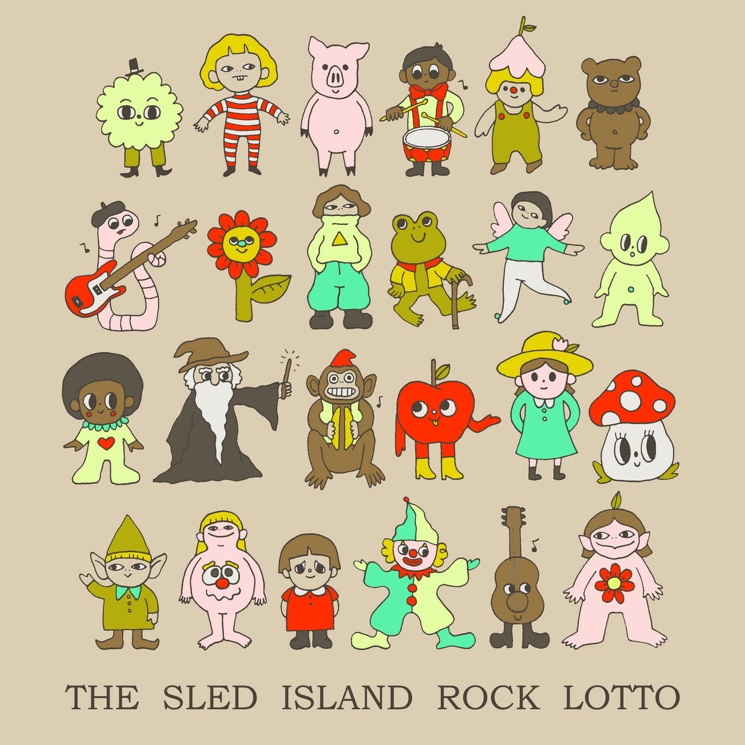 Sled Island Assembles Canadian Supergroups for 'Rock Lotto' Compilation Album