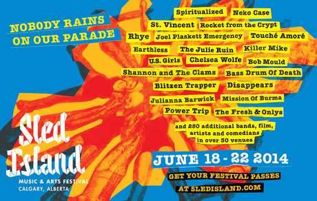 Sled Island Expands 2014 Lineup with Mission of Burma, White Lung, Blitzen Trapper