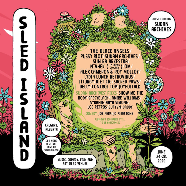 Sled Island Reveals Initial 2020 Lineup with the Black Angels, Pussy Riot, Sun Ra Arkestra