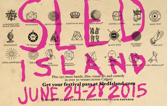 Sled Island Adds Old Man Gloom, Jazz Cartier, High Klassified and Keys N Krates