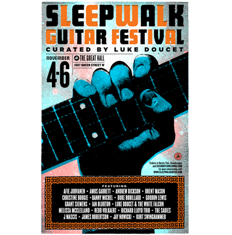 Toronto's Luke Doucet-Curated Sleepwalk Guitar Festival Gets J Mascis, the Sadies, Melissa McClelland