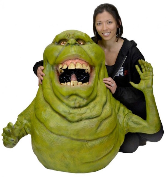 'Ghostbusters' Fans Can Finally Own a Life-Sized Slimer Doll