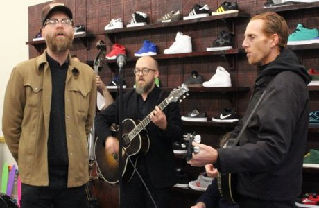"Slim Cessna's Auto Club Perform ""No Doubt About It"""
