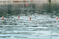 Slint Visited the 'Spiderland' Quarry for a 30th Anniversary Swim