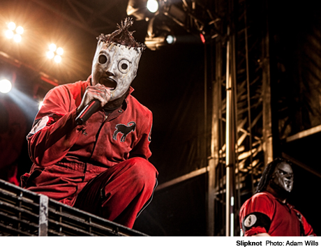 Slipknot Downsview Park, Toronto ON August 11
