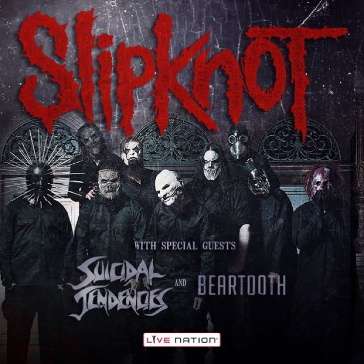 Slipknot to Hit Canadian Prairies on Fall Tour with Suicidal Tendencies