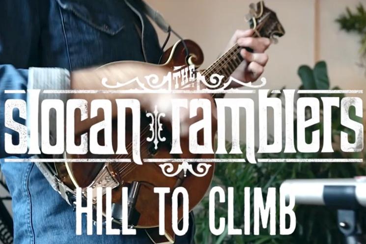 "The Slocan Ramblers Premiere Video for Bluegrass Barnburner ""Hill to Climb"""