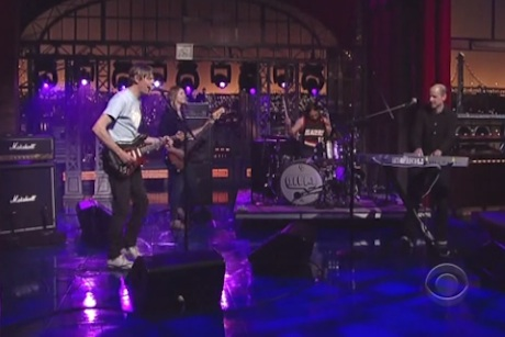 "Stephen Malkmus & The Jicks ""Houston Hades"" (live on 'Letterman')"