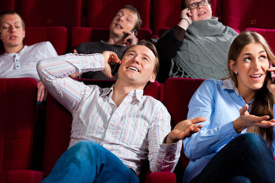 AMC Kiboshes Plan to Allow Texting at Movies