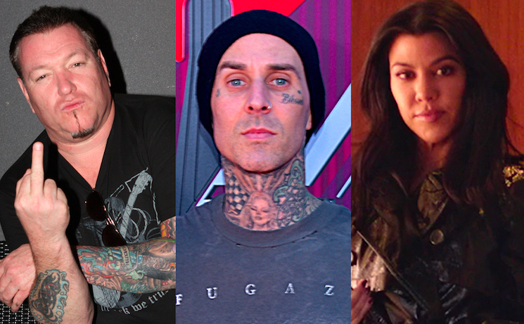 Smash Mouth Has Had Enough of Travis Barker and Kourtney Kardashian's Paparazzi Romance