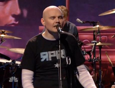 "Smashing Pumpkins ""The Celestials"" (live on 'Leno')"