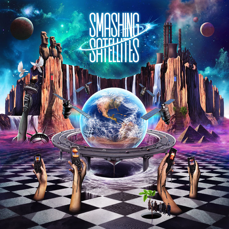 Smashing Satellites 'Sonicaluzion' (album stream)