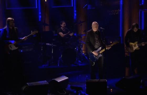 "Smashing Pumpkins ""Drum + Fife"" (live on 'Fallon')"
