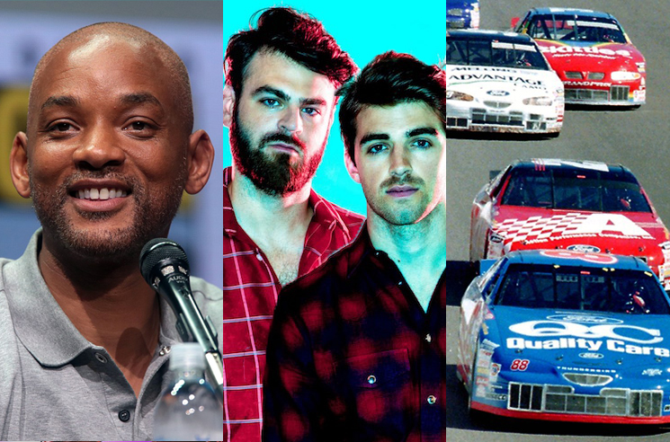 The Chainsmokers, Will Smith and NASCAR Are Making a Rom-Com