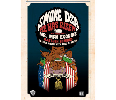 Smoke DZA Brings Mr. Muthafuckin' eXquire and Flatbush Zombies on North American Tour
