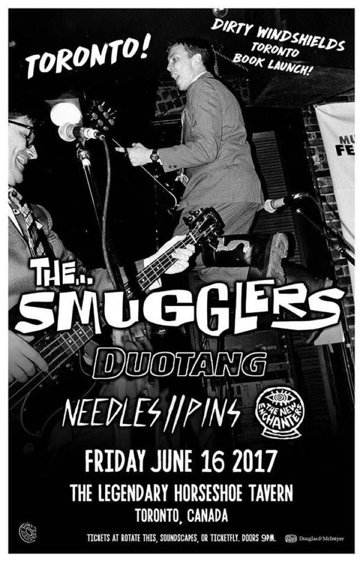 The Smugglers Announce Toronto Reunion Show