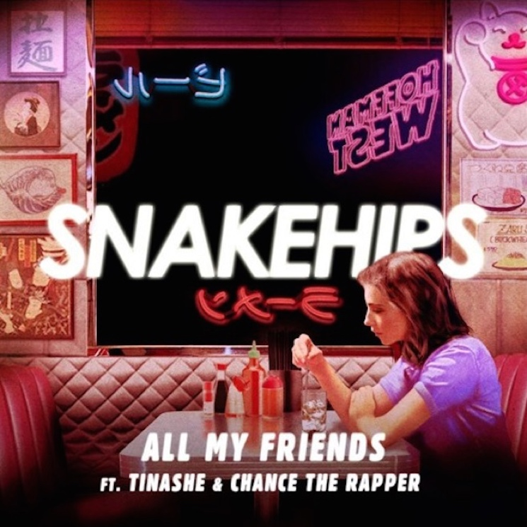 "Snakehips ""All My Friends"" (ft. Chance the Rapper & Tinashe)"