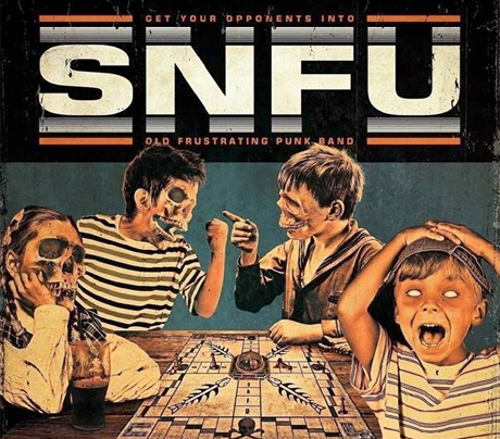 SNFU Roll Out Canadian Tour in Support of 'Never Trouble Trouble Until Trouble Troubles You'