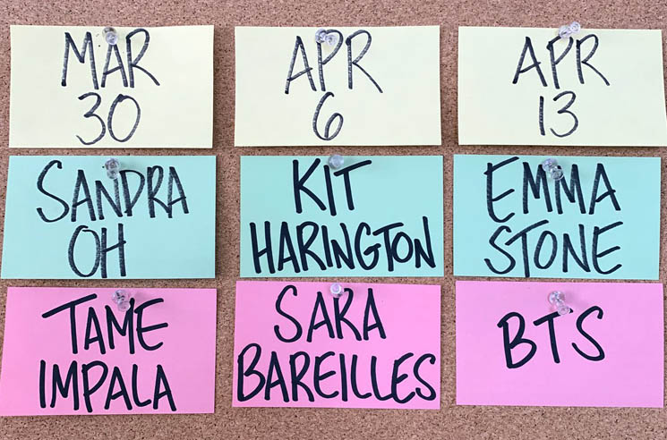 'Saturday Night Live' Adds Emma Stone, BTS, Kit Harington, Sara Bareilles to Upcoming Episodes
