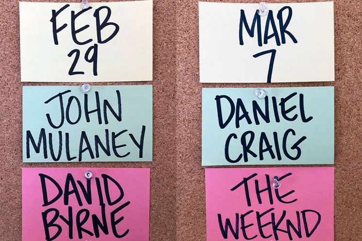 'SNL' Gets David Byrne, the Weeknd for Upcoming Episodes